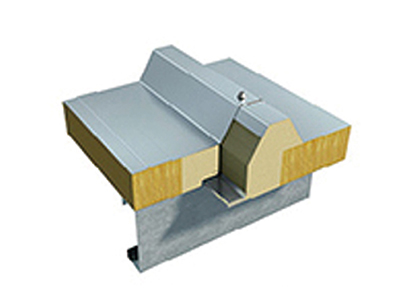 新型防火岩棉/玻璃棉屋面夹芯板