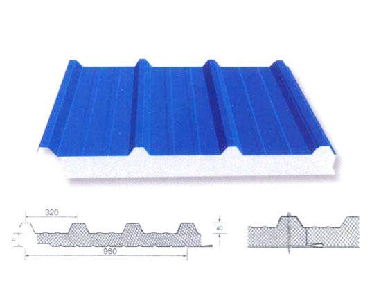 960 l 型夹芯板屋面板