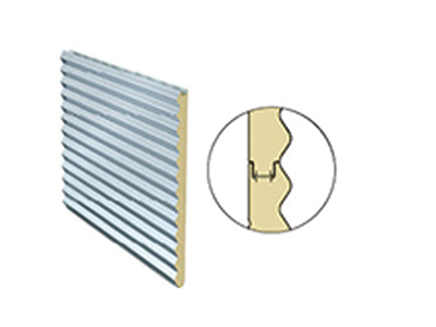 新型金属墙面夹芯板